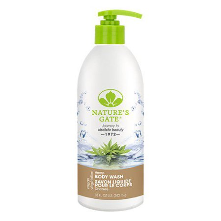 Natures Gate Hemp Body Wash 18Oz