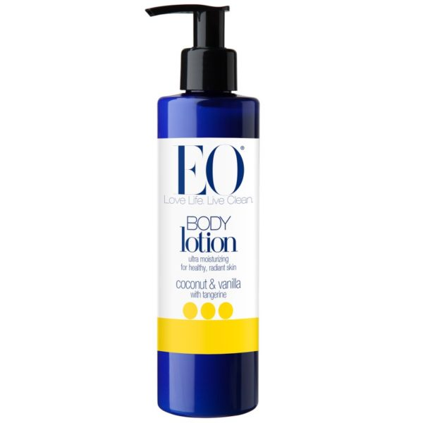 Body Lotion Coconut and Vanilla with Tangerine 8 Oz