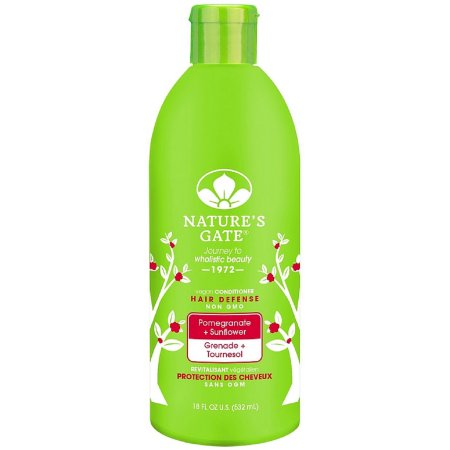 Natures Gate Conditioner Hair Defense Pomegranate+Sunflower 18 Oz(3)