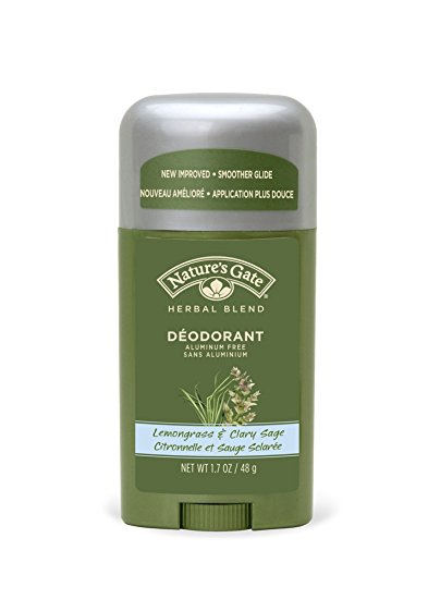 Natures Gate Deodorant Lemongrass & Clary Sage 1.7 Oz