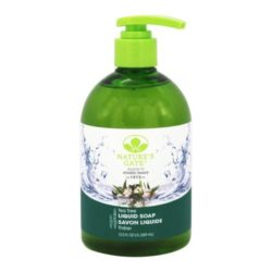 Natures Gate Liquid Soap Tea Tree 12.5 Oz