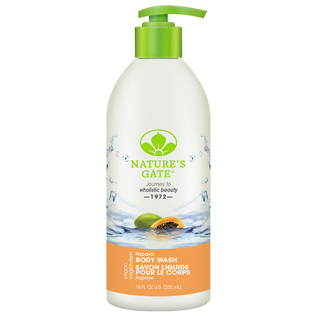 Natures Gate Papaya Body Wash 18Oz
