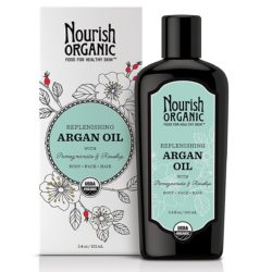 Nourish Organic Argan Oil Body-Face-Hair 3 Oz