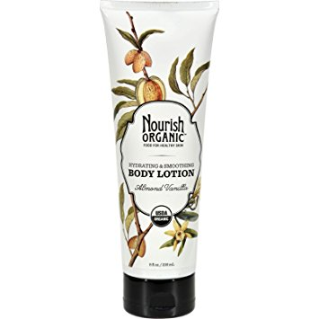 Nourish Organic Body Lotion Almond Vanilla 8 Oz
