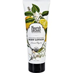 Nourish Organic Body Lotion Lemon Thyme 8 Oz