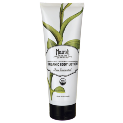 Nourish Organic Body Lotion Unscented 8 Oz(2)