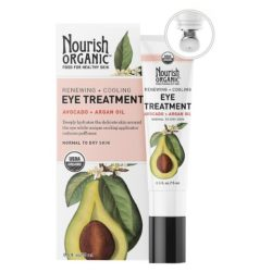 Nourish Organic Eye Treatmente Avocado+Argan Oil .5 Oz
