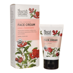 Nourish Organic Ultra Hydrating Face Cream Angan+Pomegranate 1.7(1) Oz