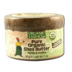 Organic Essence Pure Organic Shea Butter 2 Oz