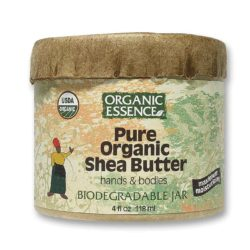 Organic Essence Pure Organic Shea Butter 4 Oz(1)