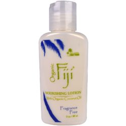 Organic Fiji Nourishing Lotion Fragance Free 3 Oz