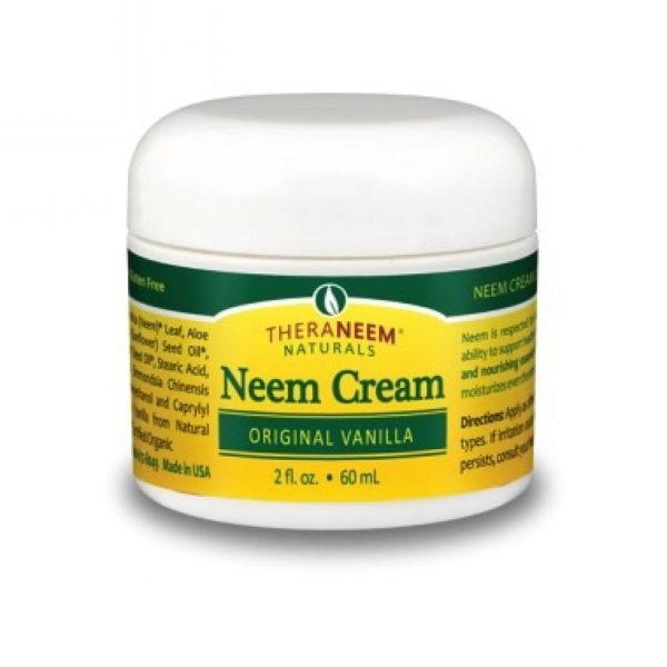 Theraneem Neem Cream Original Vanilla 2 Oz