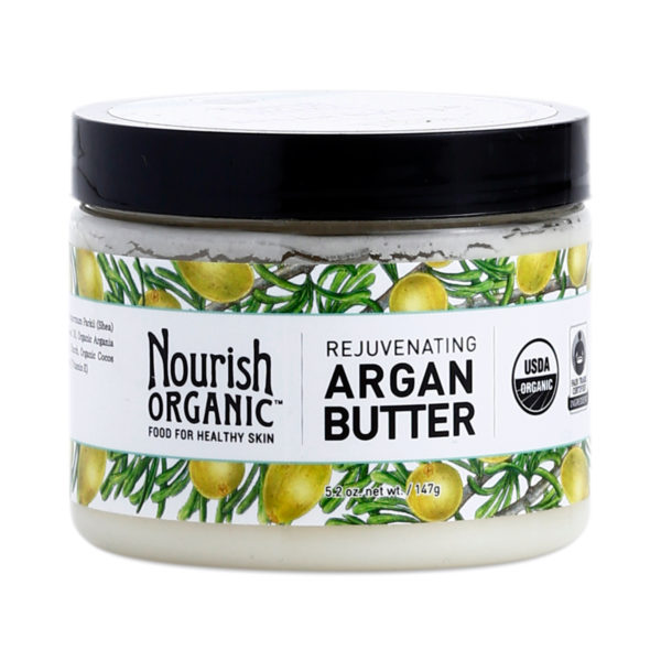 Nourish Organic Rejuvenating Argan Butter 5.2 Oz
