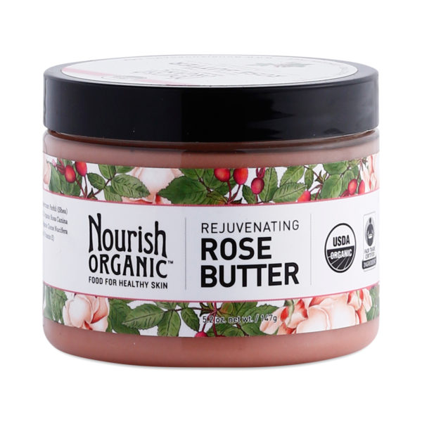 Nourish Organic Rejuvenating Rose Butter 5.2 Oz