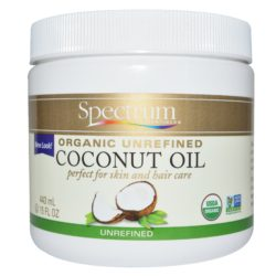 Spectrum Essentials Organic Unrefined Coconut Oil 15 Oz