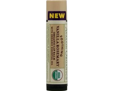 Avalon Lip Balm Soothing Vanilla Rosemary 0.15 Oz
