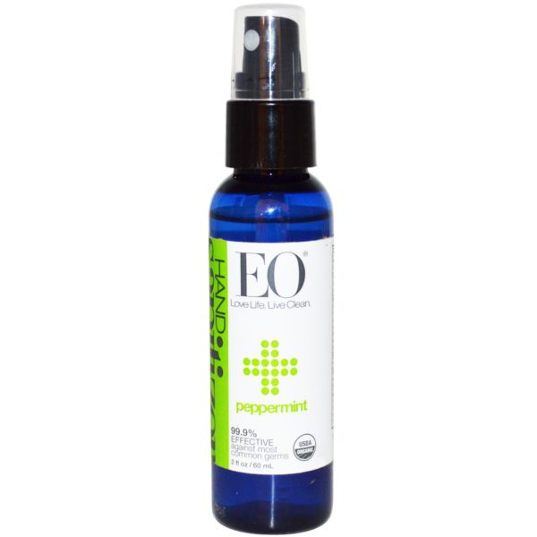 Eo Products Sanitizing Products Peppermint Spray 2 oz