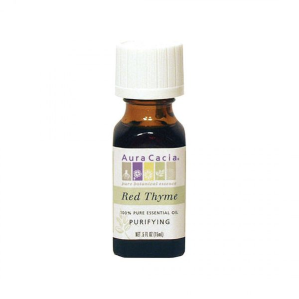 Aura Cacia Essential Oil Red Thyme Purifying .5 OZ