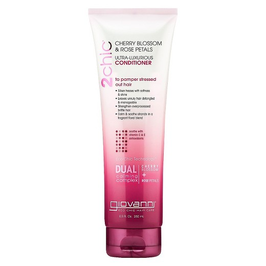 Giovanni Cosmetics Conditioner Ultra Luxurious Cherry Blossom&Rose Petals 8.5Oz