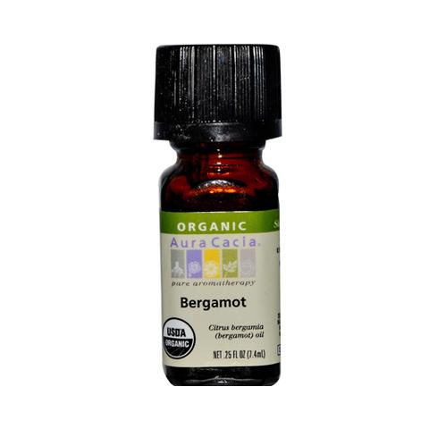 Essential Oil Organic Bergamot .25 Oz